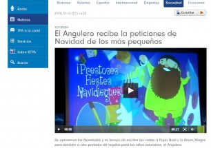 NOTICIA ANGULERU EN TPA 2013